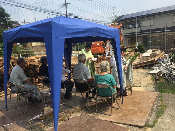藤江の家 地鎮祭
